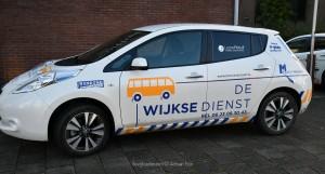 Derde auto voor de Wijkse Dienst!